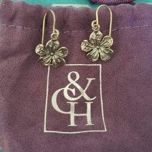 Grace & Heart Dangle Earrings